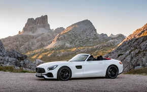 Picture White, 2016, Metallic, Mercedes-Ben, AMG GT Roadster
