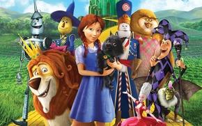 Picture girl, monkey, soldier, dog, wings, lion, joker, mountains, street, cartoon, owl, vegetation, scarecrow, 2014, uniform, …