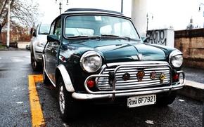 Picture auto, Mini Cooper, Morris Mini Cooper