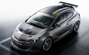Wallpaper machine, hatchback, Opel, OPC Extreme, Astra, Opel