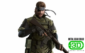 Picture gun, game, soldier, weapon, war, Snake, spy, Metal Gear, man, hero, M16, rifle, warrior, belt, …