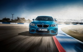 Picture Blue, BMW, BMW, Track, FAS
