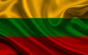 Picture flag, Lithuania, lithuania