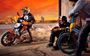Picture bike, ktm, stunt