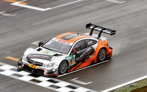Picture Mercedes, DTM, C-Class, Damp, Wickens