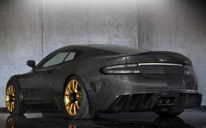 Picture tuning, Aston Martin, car, carbon, back, Mansory, Cyrus, Aston Martin DB9