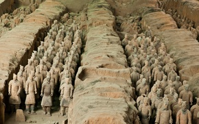 Picture China, archaeology, The terracotta army