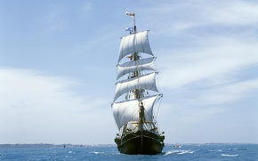 Picture Sea, Sailboat, The wind