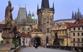 Wallpaper Prague, Czech Republic, Bridge