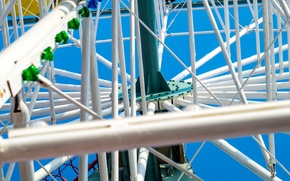 Picture the sky, Park, wheel, attraction