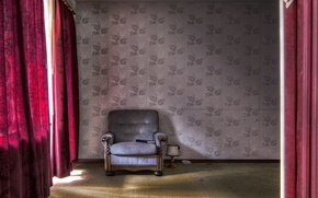 Picture background, room, chair