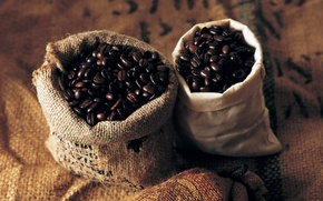 Picture grain, Coffee, 1920x1200, beans, coffee, bags, bags