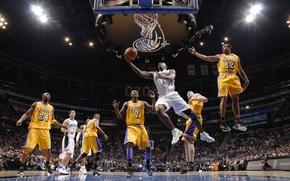 Picture NBA, Basketball, slam dunk