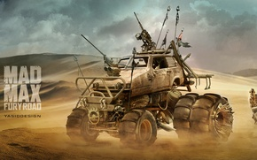 Picture sand, car, auto, desert, supercharger, auto, Mad Max, Fury Road, Mad Max: fury Road, NAKS