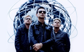Picture background, men, musicians, the legendary band, Depeche mode, Andrew Fletcher, Herald of fashion, Martin Gore, …