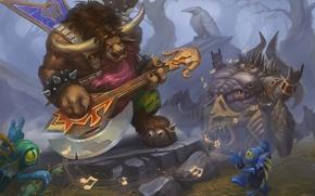 Wallpaper Heroes of the Storm, wow, Baby Murloc, The Power of the Horde, diablo, Warcraft, World ...