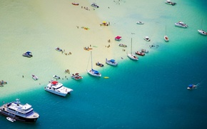 Picture sea, people, stay, vacation, boats, yacht, boat