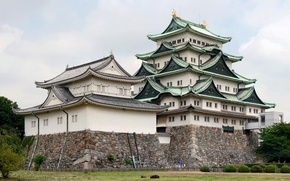 Wallpaper japan, nagoya castle, the Nagoya castle, Japan