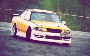 Picture sport, drift, drift, Toyota, chaser