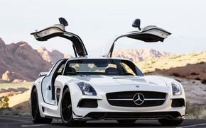 Picture Mercedes Benz, AMG, SLS, Black Series