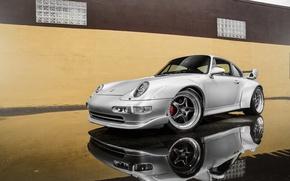 Picture 911, Porsche, GT2, silvery, 993