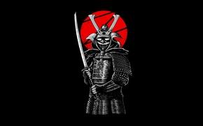 Picture style, sword, warrior, samurai