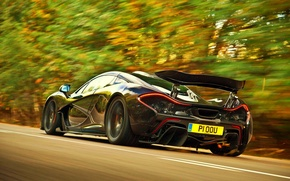 Picture McLaren, Speed, Supercar, Hypercar