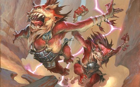 Picture Magic: The Gathering, Jesper Ejsing, Dragon Food, Dragon Fodder