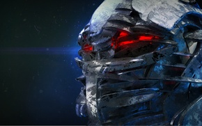 Picture background, fiction, art, helmet, armor, sci fi