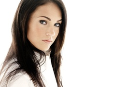 Picture Look, White, Megan Fox