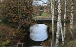 Picture Autumn, Channel, Fall, Bridge, Autumn, The bridge, Canal