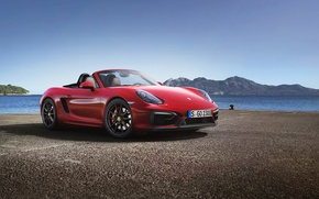 Wallpaper car, machine, Roadster, Porsche, hq Wallpapers, Porsche Boxster GTS
