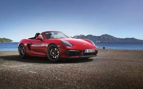 Wallpaper Porsche, hq Wallpapers, machine, car, Roadster, Porsche Boxster GTS