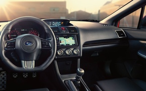 Picture Subaru, WRX, Interior