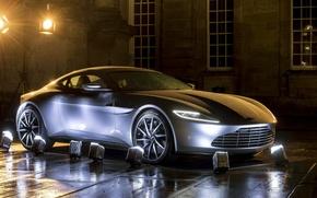 Picture Aston Martin, backlight, car, The concept car, Coupe, Concept car, DB10