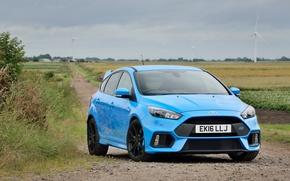 Picture Ford, Focus, Blue, (Mk3)