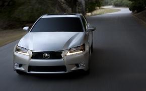 Picture road, Lexus, Lexus, sedan, 350