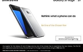 Picture edge, galaxy, samsung, 2016, samsung galaxy s7, smartphone.