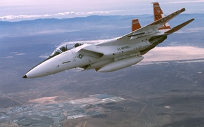 Picture F-15 Eagle, California, The Edwards Air Force Base