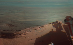 Picture crater, Mars, NASA, Opportunity, Endeavour, the Rover