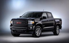 Picture background, pickup, GMC, Canyon, SLE