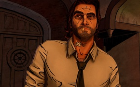 Picture Bigby, fables, wolf among us