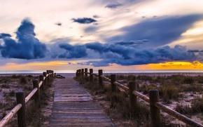 Wallpaper nubes, andalucia, beaches of almeria