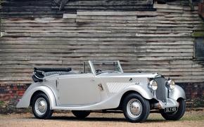 Picture auto, retro, convertible, railton straight 8