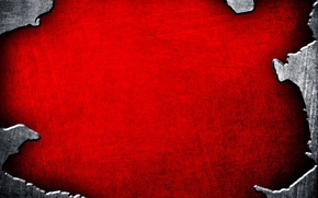 Picture red, background, texture, metallic, edge