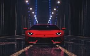Picture Lamborghini, Car, Need For Speed, Aventador LP 700-4, Video Game, Orange Car