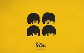 Picture yellow, the Beatles, cover