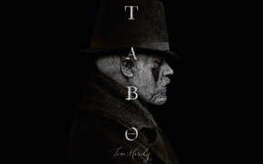 Picture hat, man, Taboo, Tom Hardy, miniseries, Tabo