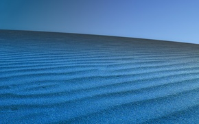 Wallpaper sand, blue, barkhan