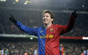 Wallpaper football, lionel messi, Lionel Messi, Barcelona, player, Wallpaper